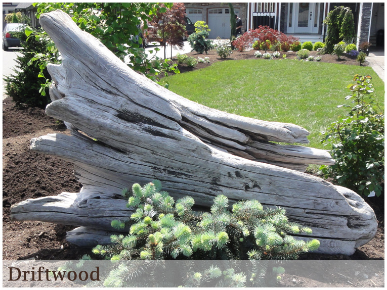Landscaping With Driftwood : Services in the garden landscaping design contracting